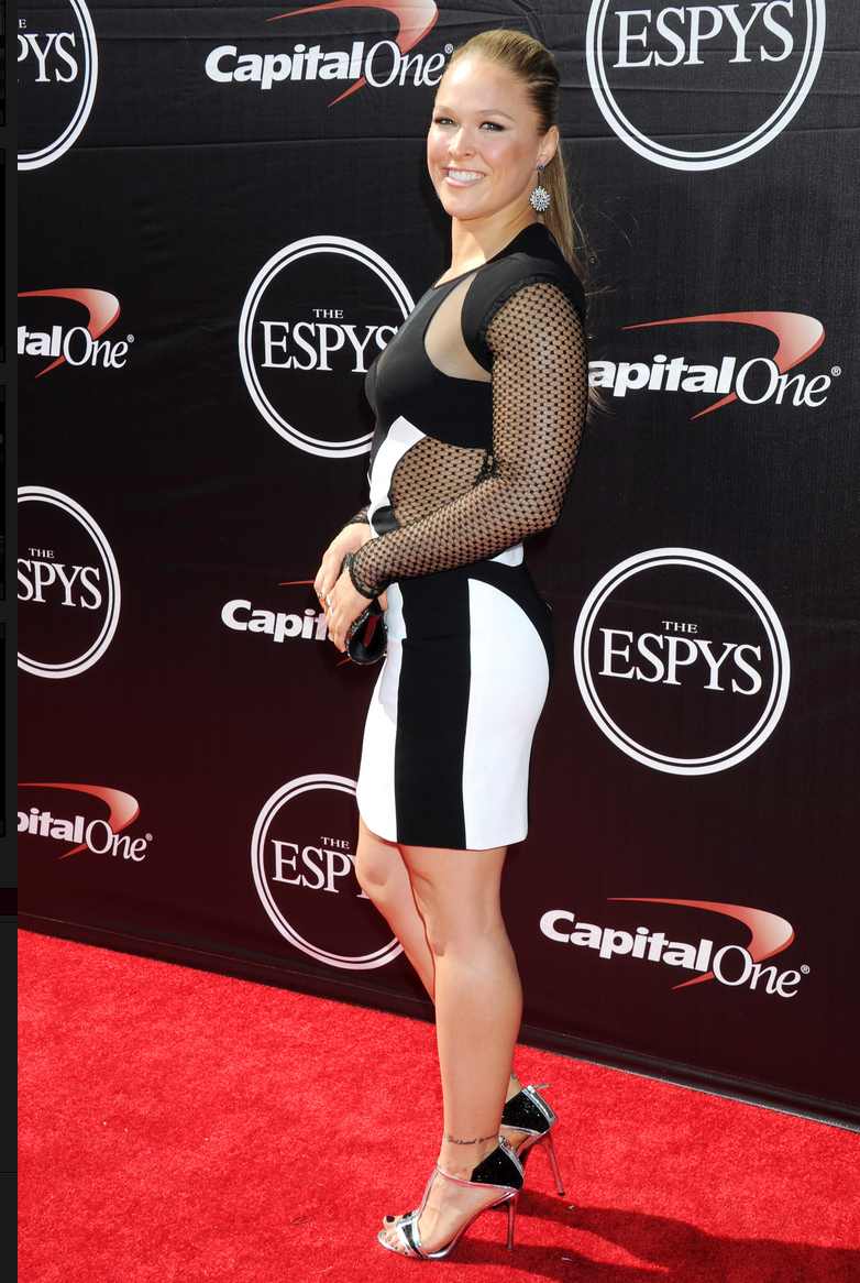 Ufc Ultimate Fighter Championship >> Ronda Rousey Red Carpet Photos & Shoes - Meeko Spark TV
