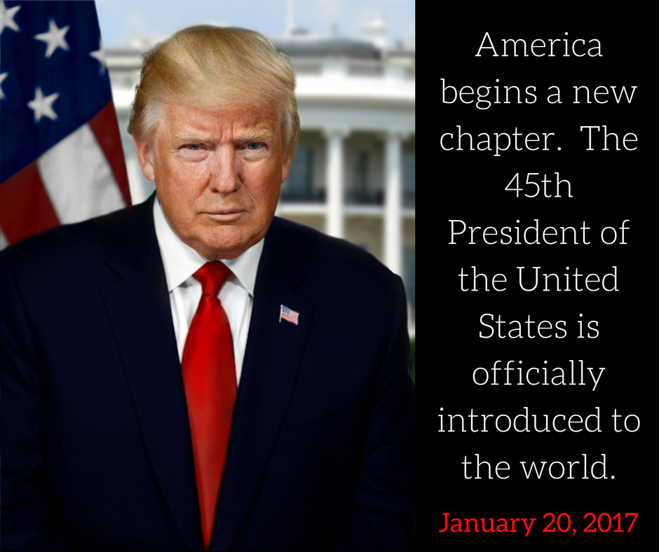 America begins a new chapter the 45th president of the for Who is the most famous president of the united states