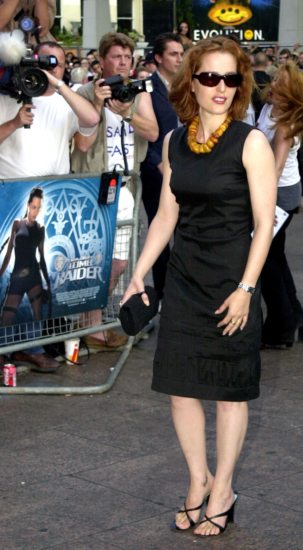 Gillian Leigh Anderson Red Carpet Meeko Spark Tv