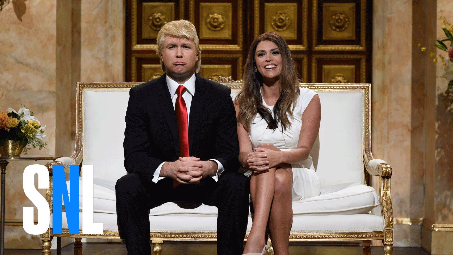 Donald And Melania Trump Cold Open Snl Donaldtrump